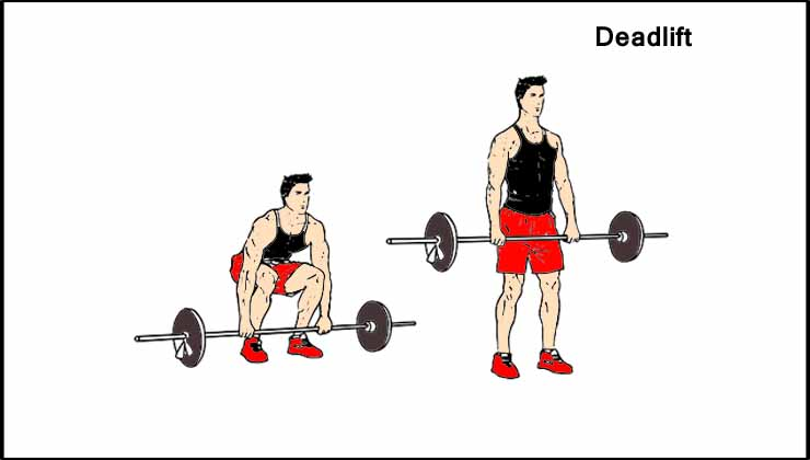 Back workout For Men in Hindi Deadlift