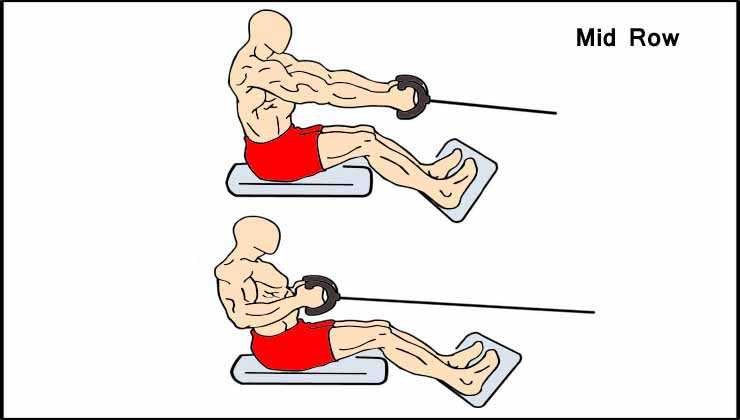 Back Workout For Men in Hindi T Bar Row Mid Row