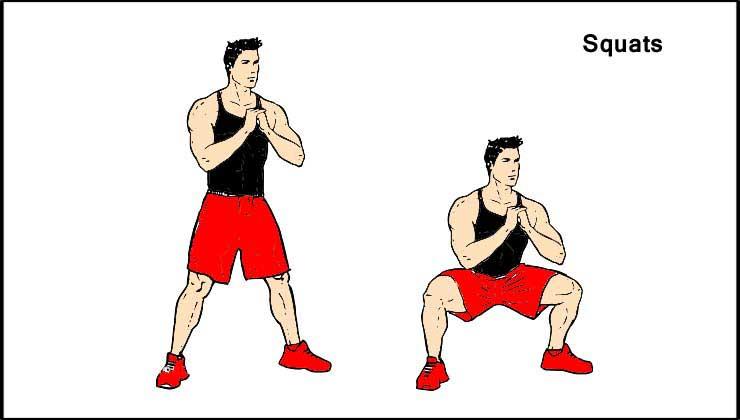 Squats Ghar Par Workout Tips