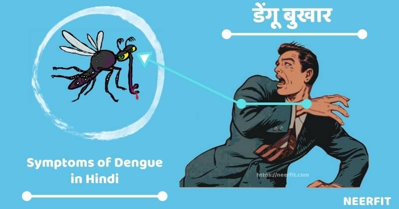 symptoms of dengue in hindi